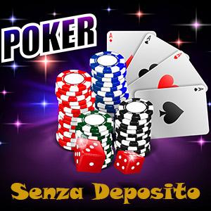 bonus poker senza deposito