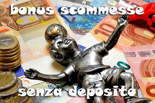 bonus senza deposito scommesse
