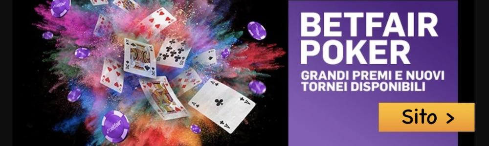 betfair poker room online