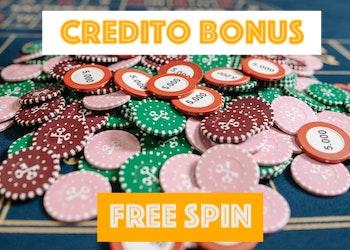 Bonus free spin senza deposito